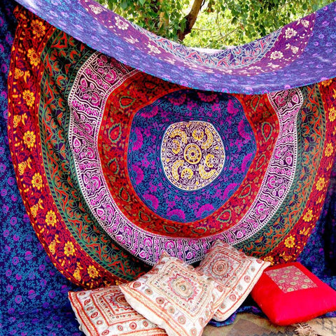 Gypsy Soul Mandala Throw