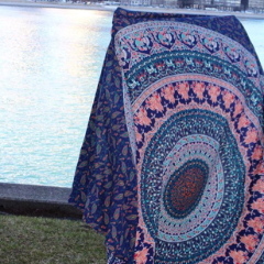 Earthchild Mandala Throw