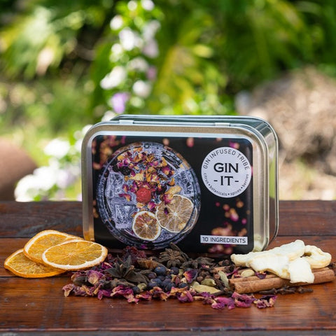 Gin Infusion Kit 4 - (10 Ingredients)