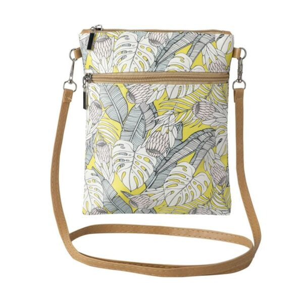 Cross Body Sling Bag - Tropical Protea