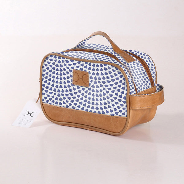 Vanity Bag - Scale Away with me - Blue