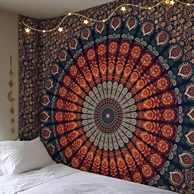 Bohemian Shades Mandala Throw