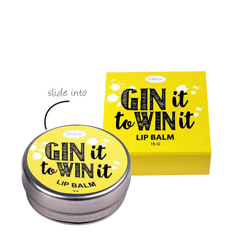 Gin it to Win it - Lemon Flavoured Lip Balm