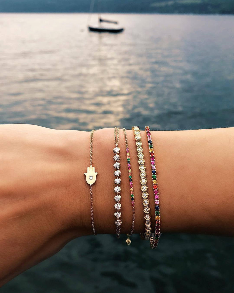 Hamsa Hand Jewelry for Luck and Good Fortune