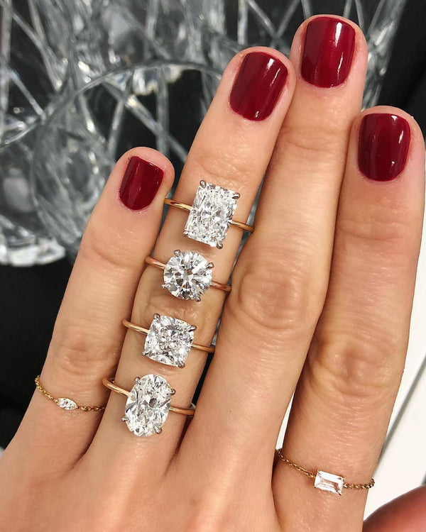6 Engagement Ring Diamond Shapes to Know