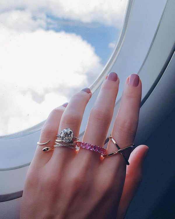 The Case for a Criss-Cross Band Instead of an Eternity Ring