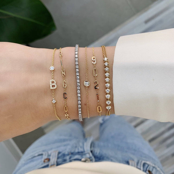 5 Initial Bracelets That Add the Perfect Touch of Personalization