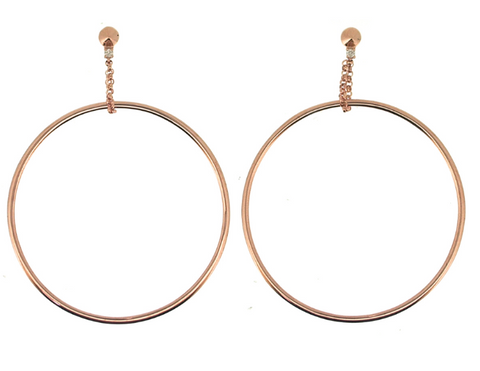 Jane Kaye Suspended Round Hoops