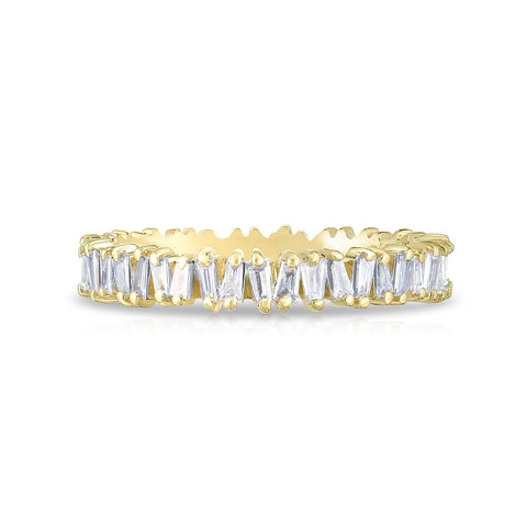 jagged half eternity ring