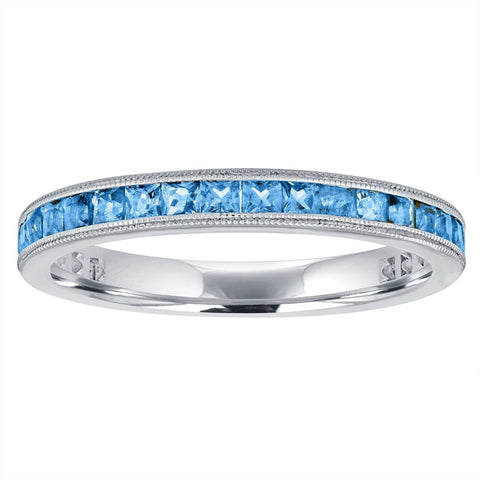topaz eternity band