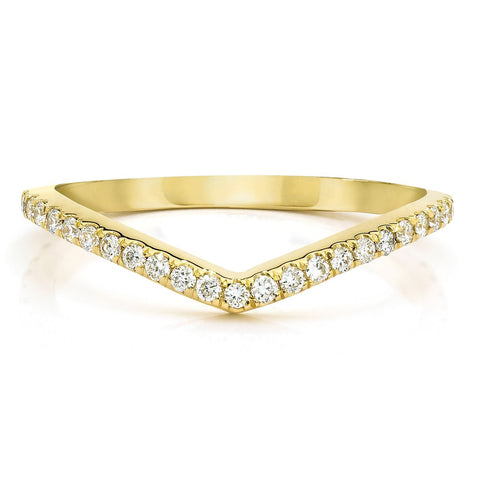 Ring Concierge Curved Diamond Band