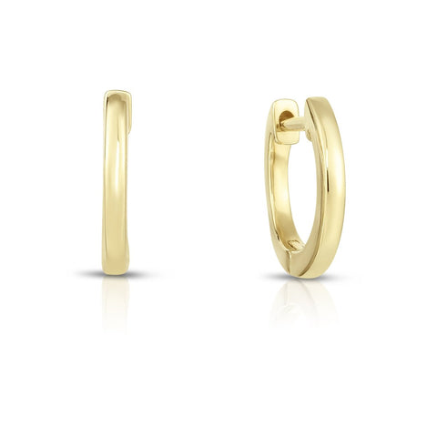Ring Concierge Dainty Gold Huggies