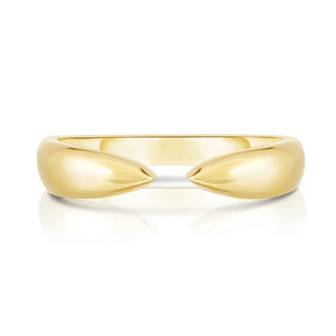 Ring Concierge Gold Claw Stackable Ring
