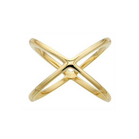 Ring Concierge Gold X Ring
