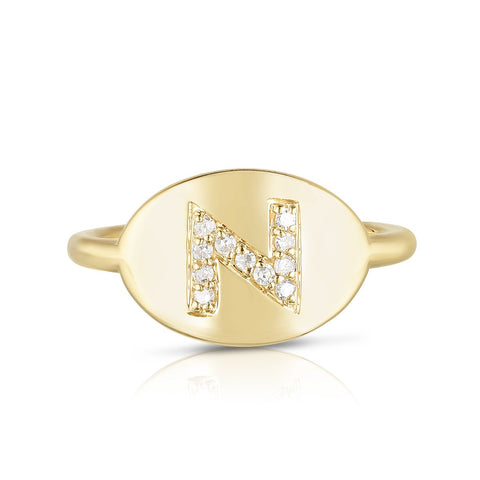 Ring Concierge Initial Signet Ring