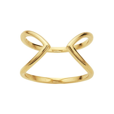 Ring Concierge Open Geometric Ring