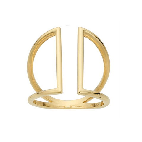 Ring Concierge Open Triangle Ring