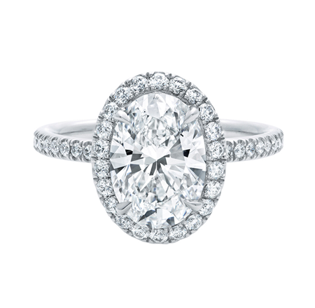 Ring Concierge Oval Halo Engagement Ring