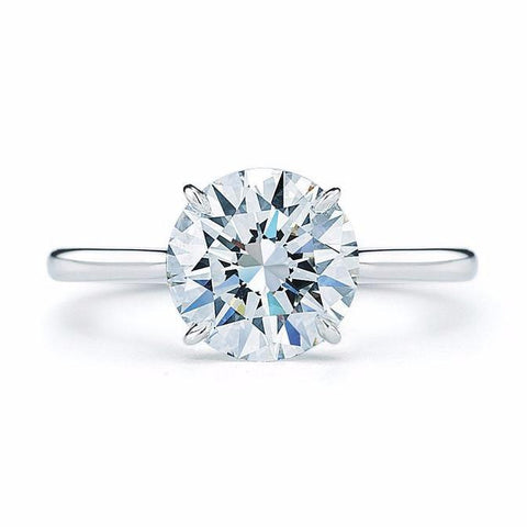 Ring Concierge Round Brilliant Solitaire Engagement Ring