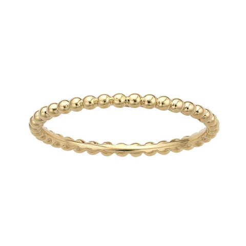 Ring Concierge Stackable Beaded Ring