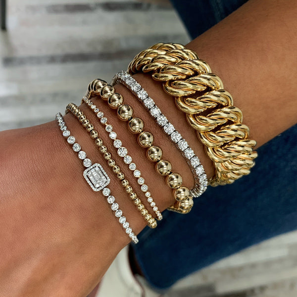 Ring Concierge Bracelets Gold Statement Bracelet
