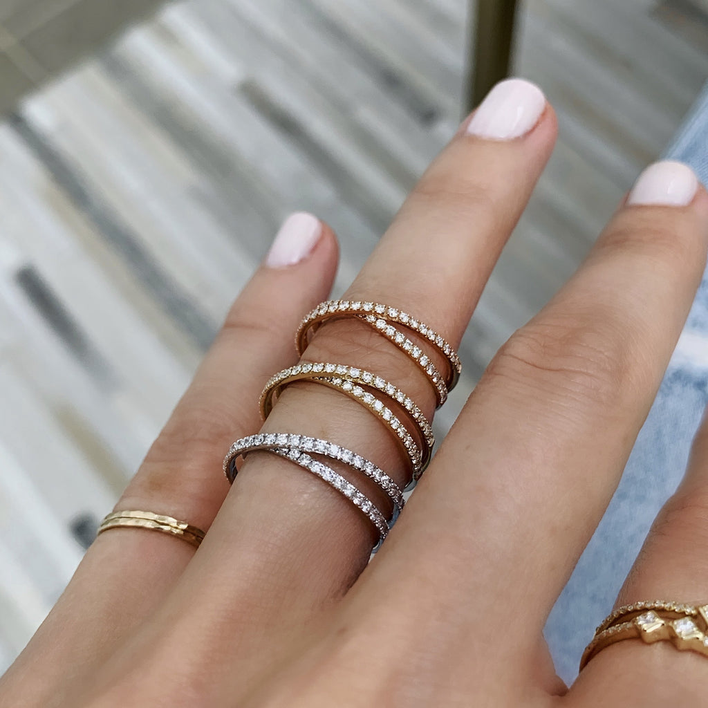 Ring Concierge Rings Criss-Cross Band | 18k Gold