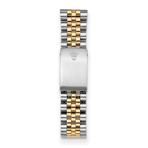 Datejust - 36 mm, Oystersteel & 18K Yellow Gold, White Dial (Certified Pre-Owned) - Ring Concierge