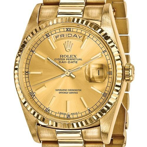Day-Date President - 36mm, 18K Yellow Gold (Certified Pre-Owned) - Ring Concierge
