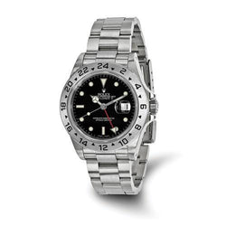 Rolex Explorer II - 40 mm, Oystersteel, Black Dial (Pre-Owned) - Ring Concierge