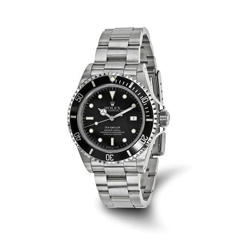 Rolex Sea Dweller - 40 mm, Oystersteel, Black Dial (Pre-Owned) - Ring Concierge