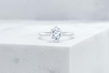 Vow Vow Engagement Rings Antique-Style Cushion / Platinum / Original Design Lenox