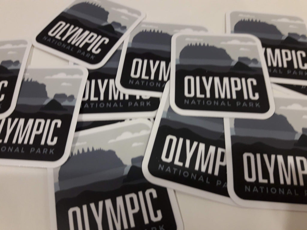 Olympic National Park Weatherproof Sticker