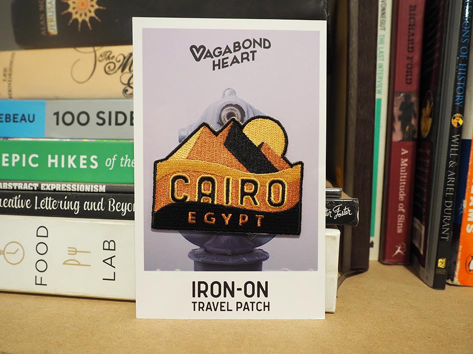 Cairo Egypt Travel Patch