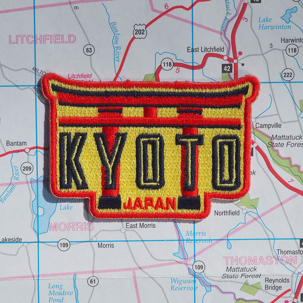 Kyoto Japan Patch