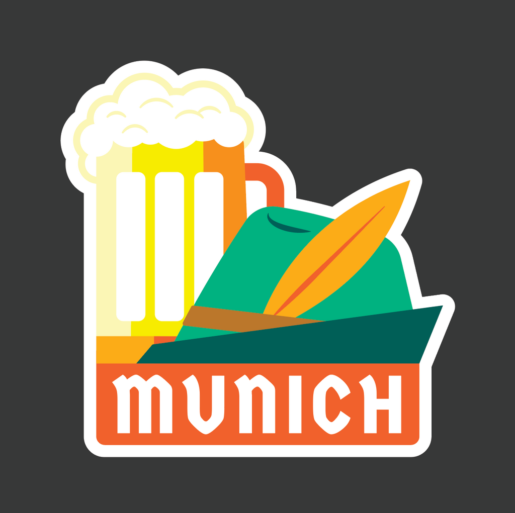 Munich Germany Patch