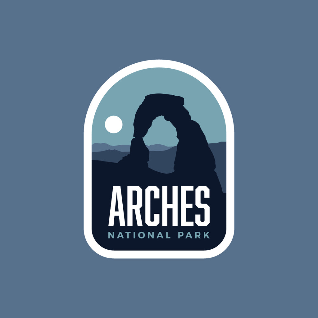 Arches National Park Weatherproof Sticker