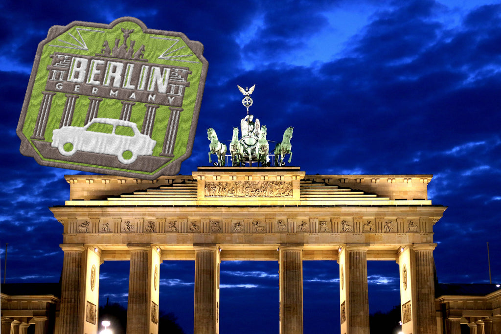 Berlin Germany Travel Sticker