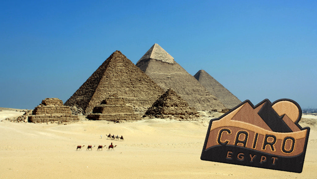 Cairo Egypt Travel Sticker