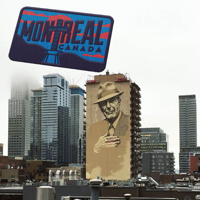 Montreal Quebec Travel Sticker