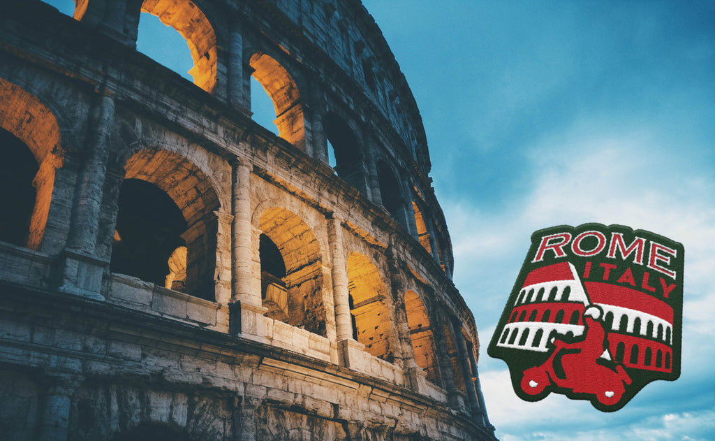 Rome Italy Travel Sticker