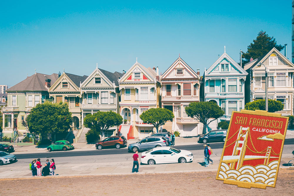 San Francisco California Travel Sticker