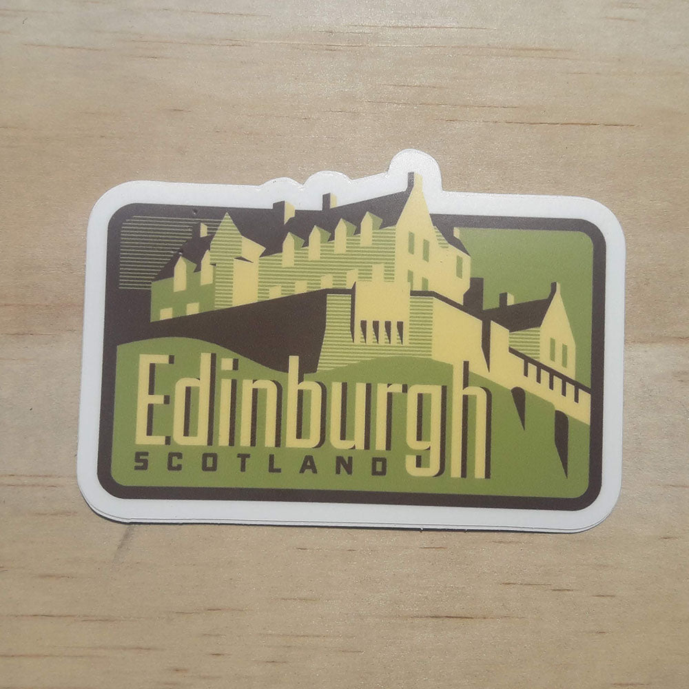 Edinburgh Scotland Weatherproof Sticker