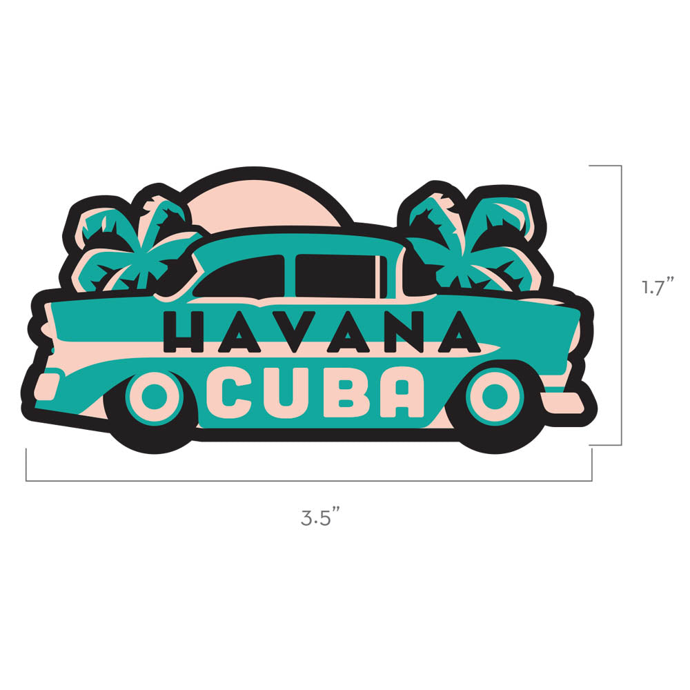 Havana Cuba Travel Patch