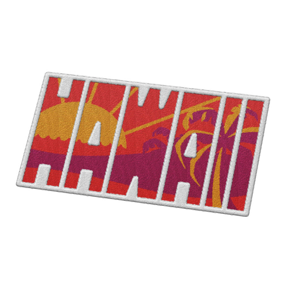 Hawaii Travel Patch
