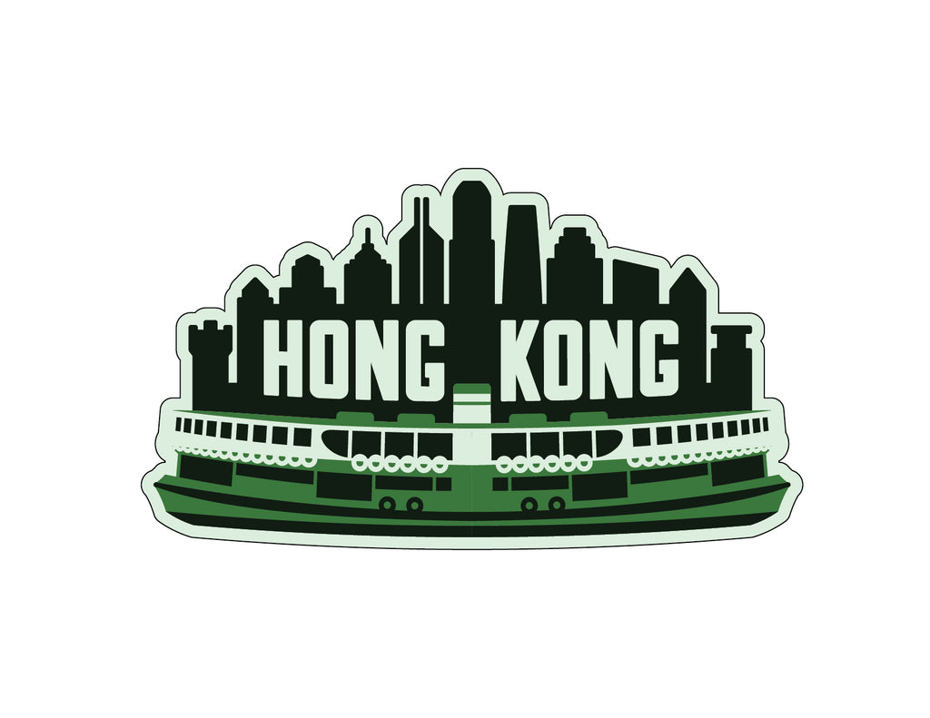 Hong Kong Weatherproof Sticker