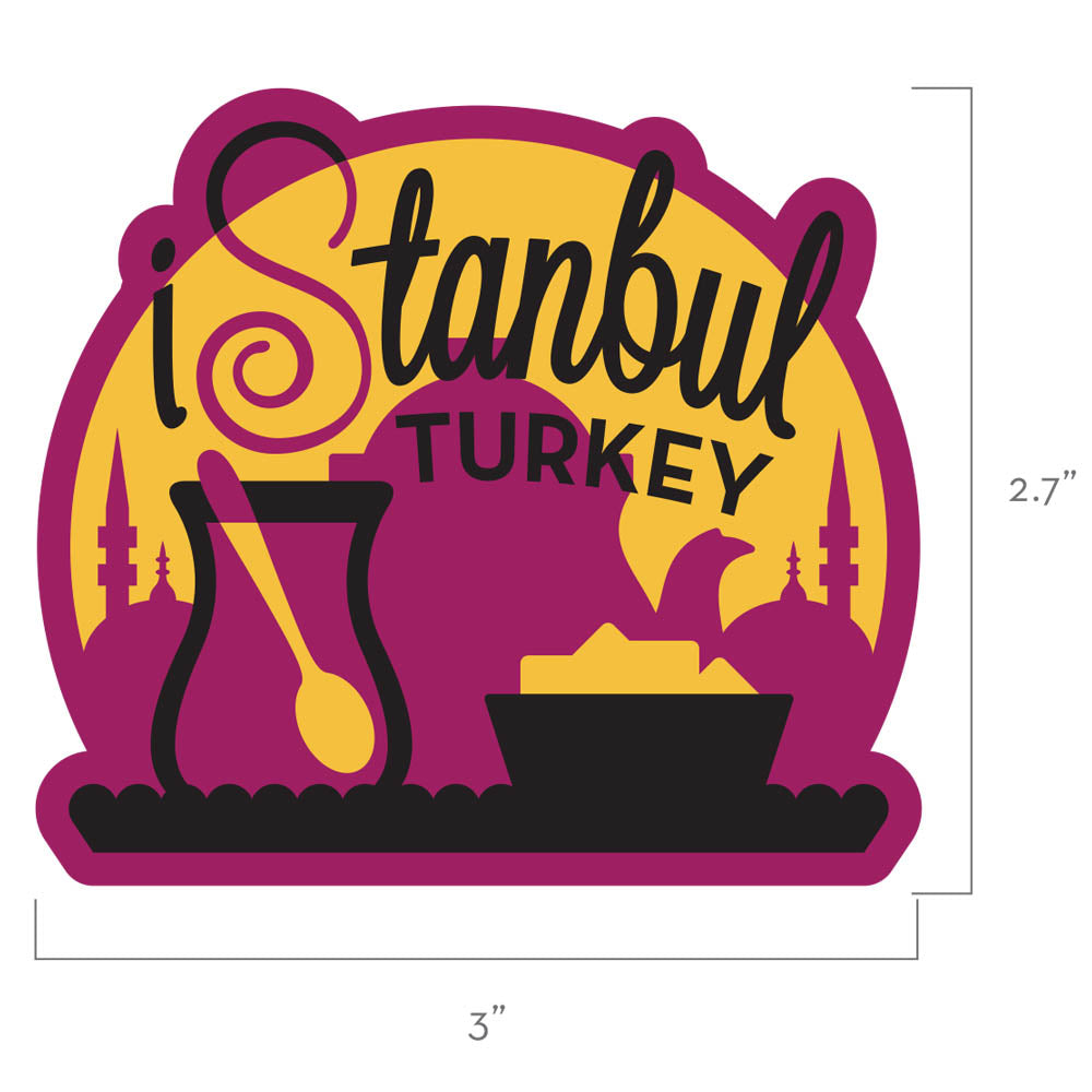 Istanbul Turkey Travel Patch
