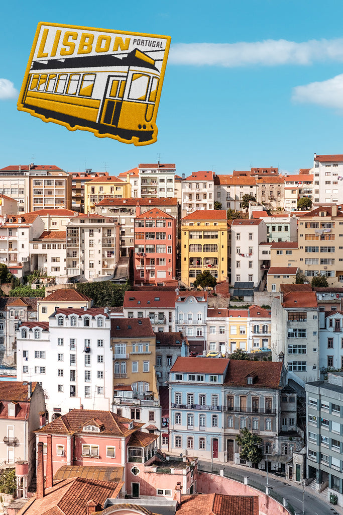 Lisbon Portugal Weatherproof Sticker