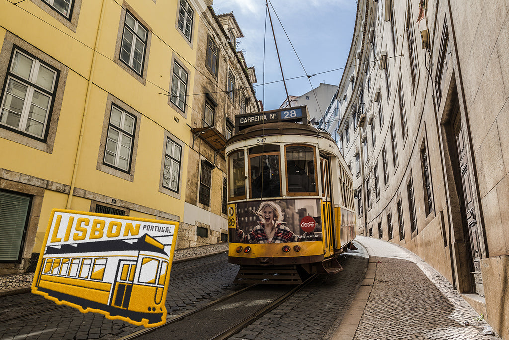 Lisbon Portugal Travel Patch