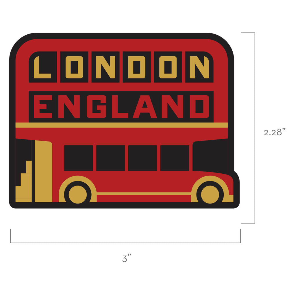 London England Travel Patch
