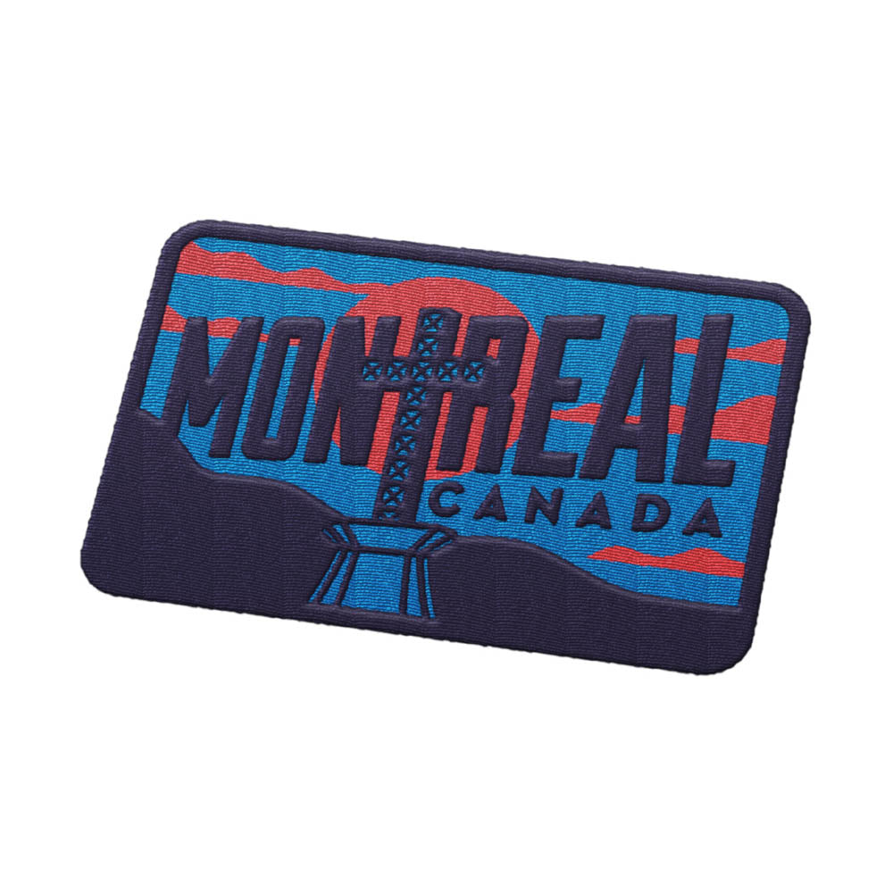 Montreal Quebec Patch